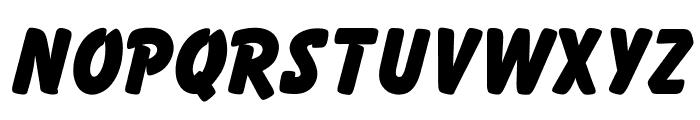 OPTIBalloonExtraBold Font UPPERCASE
