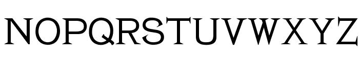 OPTIBaltimore Font UPPERCASE