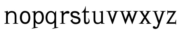 OPTIBaltimore Font LOWERCASE