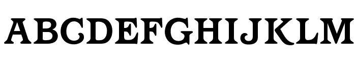 OPTIBarMay-Bold Font UPPERCASE