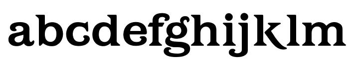 OPTIBarMay-Bold Font LOWERCASE