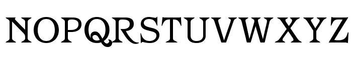 OPTIBarMay-Book Font UPPERCASE