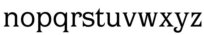 OPTIBarMay-Book Font LOWERCASE