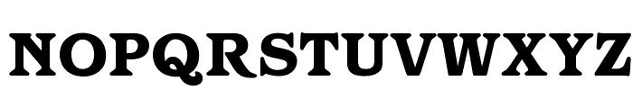 OPTIBarMay-Heavy Font UPPERCASE