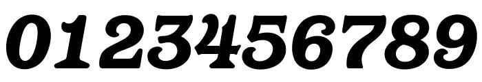 OPTIBarMay-HeavyItalic Font OTHER CHARS