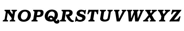 OPTIBarMay-HeavyItalic Font UPPERCASE