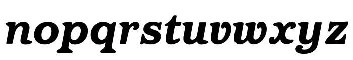 OPTIBarMay-HeavyItalic Font LOWERCASE
