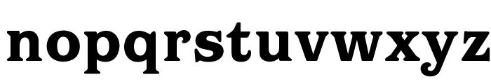 OPTIBarMay-Heavy Font LOWERCASE