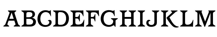OPTIBarMay-Medium Font UPPERCASE