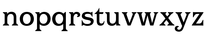 OPTIBarMay-Medium Font LOWERCASE