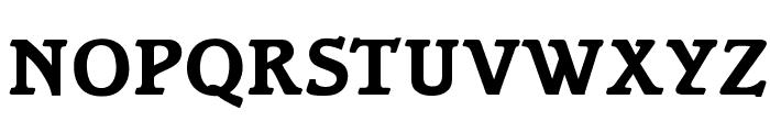 OPTIBari-Bold Font UPPERCASE