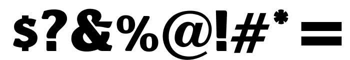 OPTIBari-ExtraBold Font OTHER CHARS