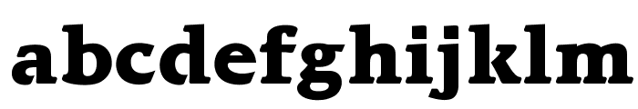 OPTIBari-ExtraBold Font LOWERCASE