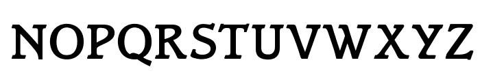 OPTIBari-Medium Font UPPERCASE