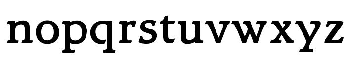 OPTIBari-Medium Font LOWERCASE