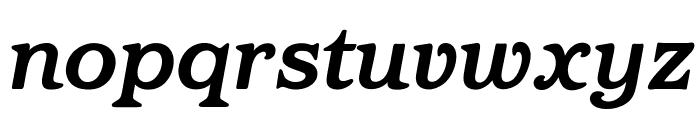 OPTIBarmay-BoldItalic Font LOWERCASE