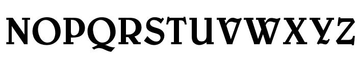 OPTIBelwe-Medium Font UPPERCASE