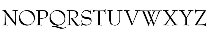 OPTIBenjieModern Font UPPERCASE