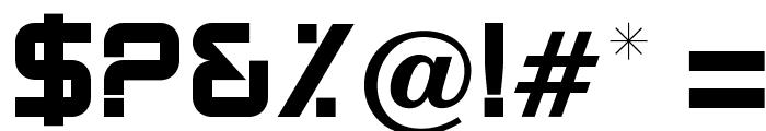 OPTIBenny-One Font OTHER CHARS