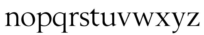 OPTIBerling-Agency Font LOWERCASE