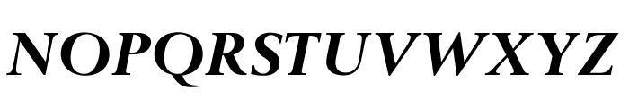 OPTIBerling-BoldItalicAg Font UPPERCASE