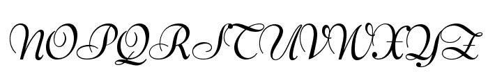 OPTIBernhard-BoldCursive Font UPPERCASE