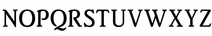 OPTIBeth-MediumAgency Font UPPERCASE