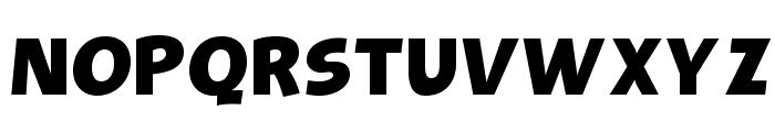 OPTIBevis-Bold Font UPPERCASE