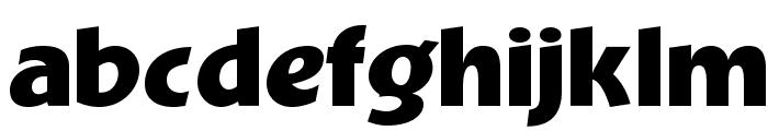 OPTIBevis-Bold Font LOWERCASE