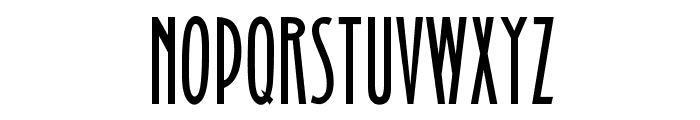 OPTIBinnerGothic Font UPPERCASE
