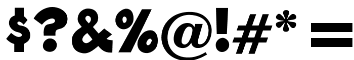 OPTIBlast Font OTHER CHARS