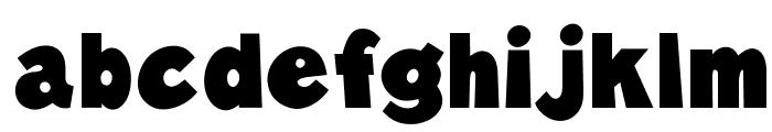 OPTIBlast Font LOWERCASE