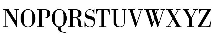 OPTIBodoni-Antiqua Font UPPERCASE