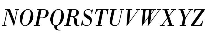 OPTIBodoniAntiqua-Italic Font UPPERCASE