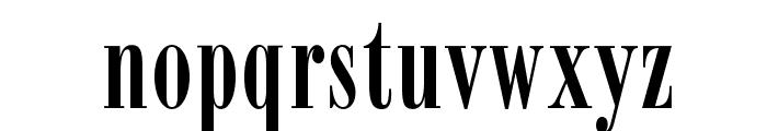 OPTIBodoniCampanileFive Font LOWERCASE