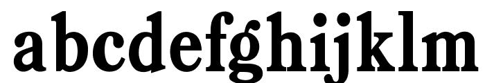 OPTIBookmanBoldCondAgency Font LOWERCASE