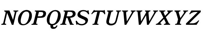 OPTIBookmanBoldItalicSwash Font UPPERCASE