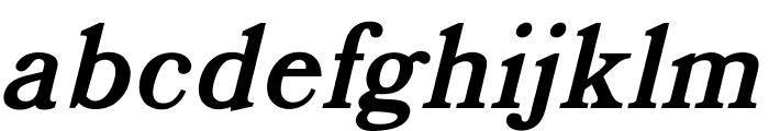 OPTIBookmanBoldItalicSwash Font LOWERCASE
