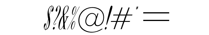 OPTIBorDen-Italic Font OTHER CHARS