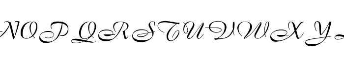 OPTIBrandenburg Font UPPERCASE