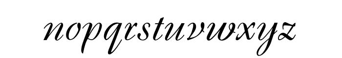 OPTIBrandenburg Font LOWERCASE