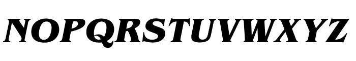 OPTIBrianJamesBold-Italic Font UPPERCASE