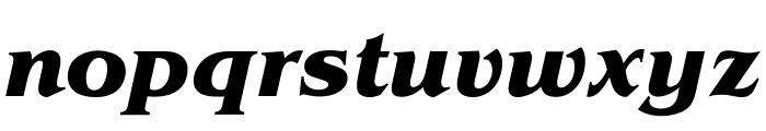 OPTIBrianJamesBold-Italic Font LOWERCASE