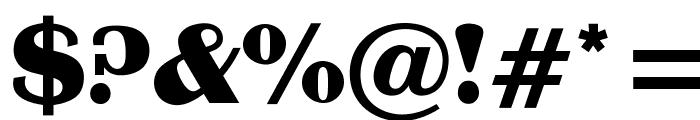 OPTIBritannic-Bold Font OTHER CHARS
