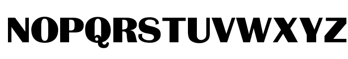 OPTIBritannic-Bold Font UPPERCASE