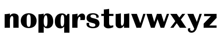 OPTIBritannic-Bold Font LOWERCASE