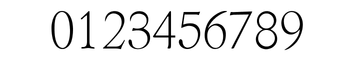 OPTIBriteText-Light Font OTHER CHARS