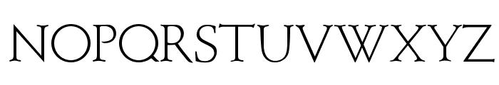 OPTIBriteText-Light Font UPPERCASE