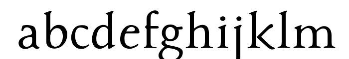 OPTIBriteText-Medium Font LOWERCASE