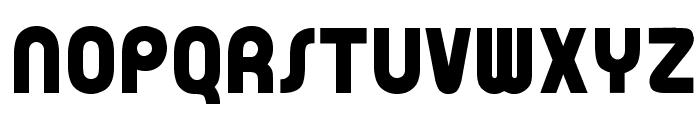 OPTIBubbleDoubleBold Font UPPERCASE